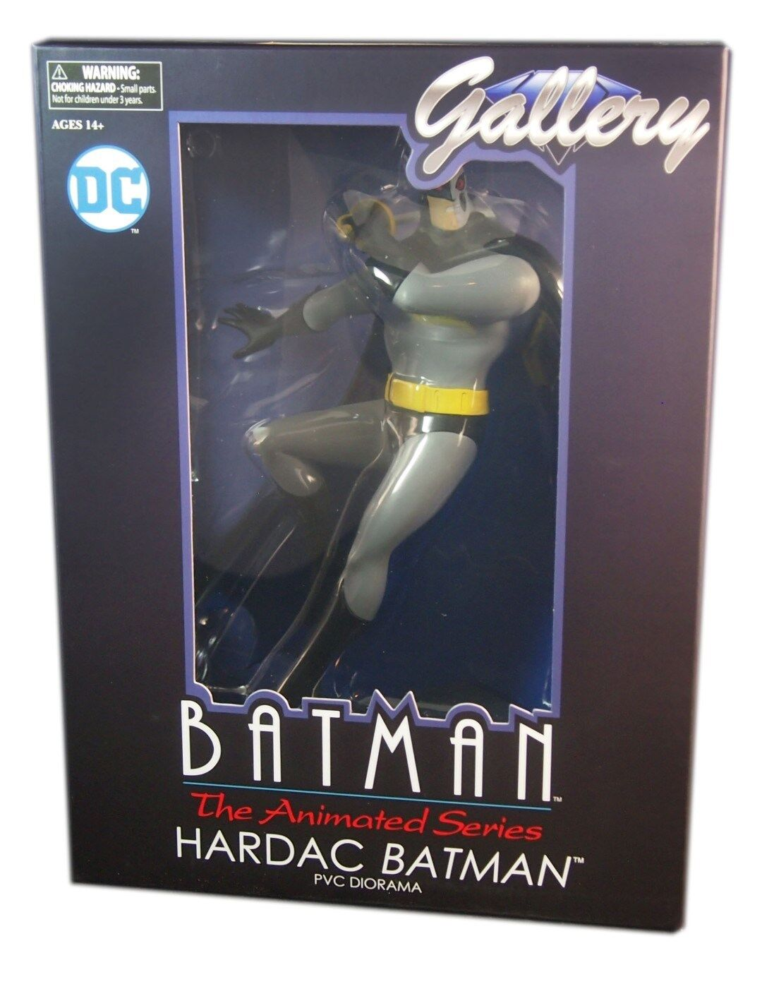 Diamond Select DC Gallery, Hardac Batman PVC Figure 11 inch, New  and Sealed