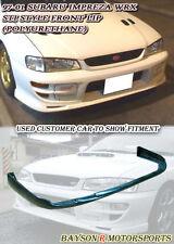 ST-Style Front Lip (Urethane) Fits 99-01 Subaru Impreza GC8