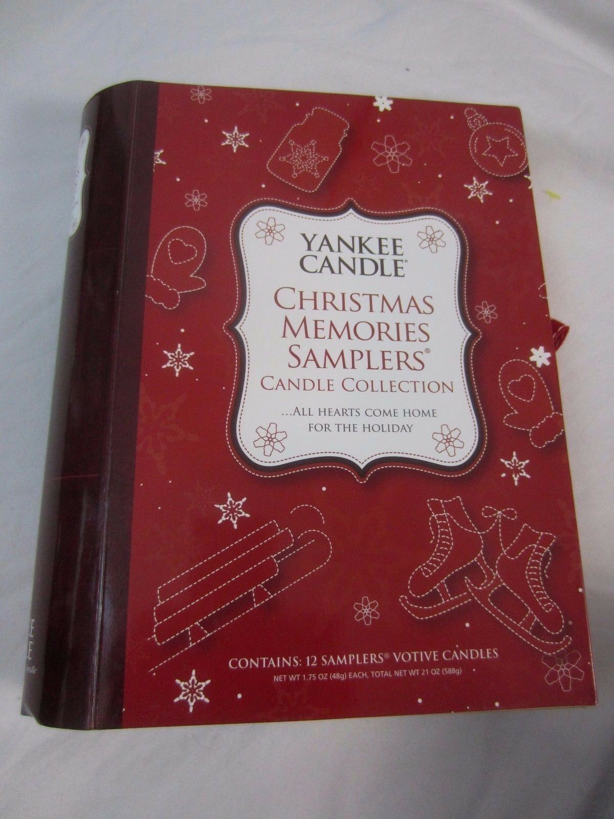 Yankee Candle Christmas Memories Samplers Candle Collection Gift Set Set Set 12 Votive Y 5244cf