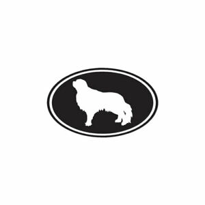 English-Toy-Spaniel-Oval-Dog-Decal-Sticker-Multiple-Colors-amp-Sizes-ebn3662