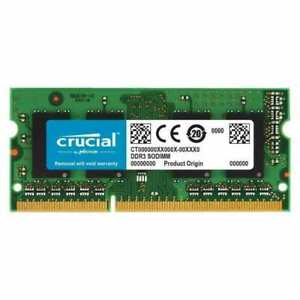 Crucial 4GB DDR3-1066 SO-DIMM Memory for Mac CT4G3S1067M