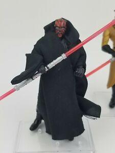 Hasbro-Star-Wars-Lot-of-3-Sith-Training-Darth-Maul-apprentice-Speeder-Maul