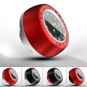 Lightweight-Bike-Bicycle-Headset-Clock-Top-Cap-Stem-Cover-Watch-Compact-Cycling