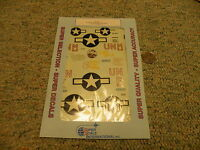 Superscale decals 1/48 48-587 P-47M Thunderbolt Wingmen 63rd 56th   N102