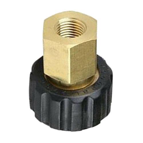 Brass High Pressure Hose Adaptor Connctor High Pressure Washer Kit G1//4 To M22