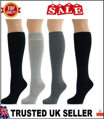 4 PAIA Donna Ragazza Stivali al ginocchio coscia alta calze lunghe Tg UK 4-7 bmnkg