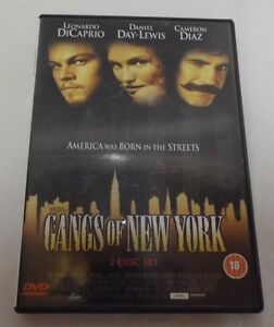 Leonardo Dicaprio Gangs Of New York 2 Disc DVD - <span itemprop=availableAtOrFrom>SOMERSET, United Kingdom</span> - Please return the item within 14 days of purchase and we will offer a full refund (Non faulty items must be returned in original packaging and as new condition to qualify for a refund).  - SOMERSET, United Kingdom