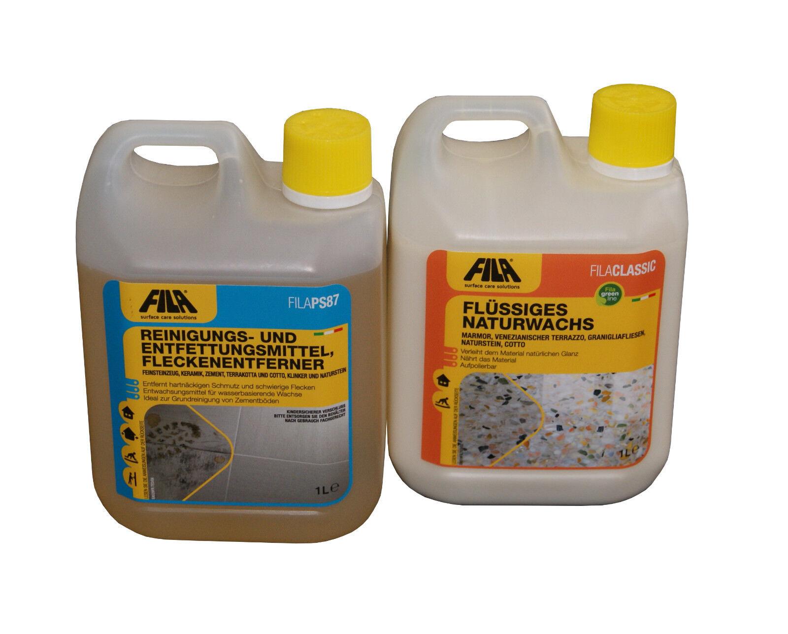 FILA SET 7 CLEANING + MAINTENANCE: Fila PS87 1l + Fila Classic 1l