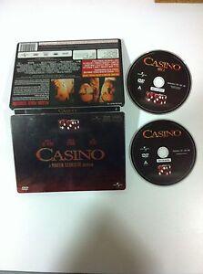 CASINO-STEELBOOK-2-DVD-ROBERT-DE-NIRO-MARTIN-SCORSESE-Espanol-Ingles-AM