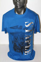 Staple S/s Foil City T-shirt Royal Blue 1704c9892