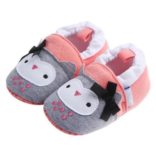 Nouveau Né Bébé Fille Semelle Souple Crib Chaussures Anti-dérapant Basket