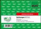 Formularbuch »quittung Inkl. Mwst.« Von Sigel
