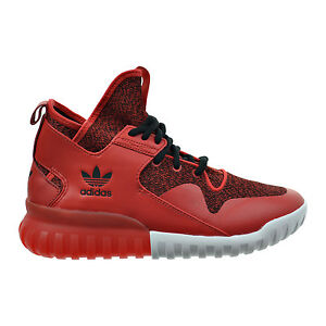 Image is loading Adidas-Tubular-X-Men-039-s-Shoes-Red-