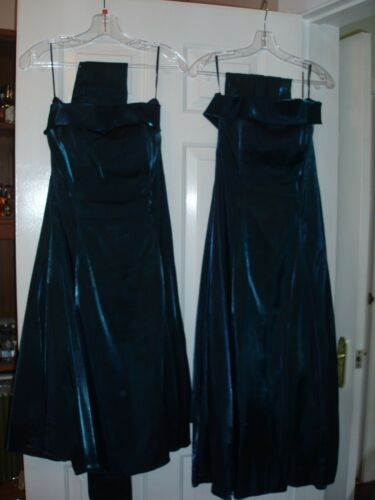 2 Jade Bmaid cocktail dresses Botley Bridal Mill size 10 and 14 sep or together