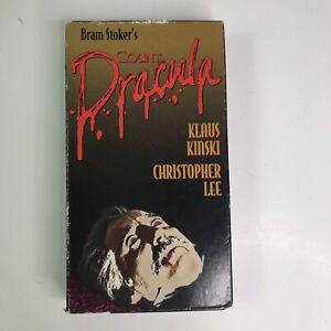 Count Dracula VHS Klaus Kinski, Christopher Lee; Jess ...