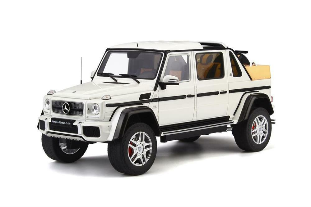 Maybach G650 Landaulet in White 1 18 Scale by GT Spirit for Kyosho