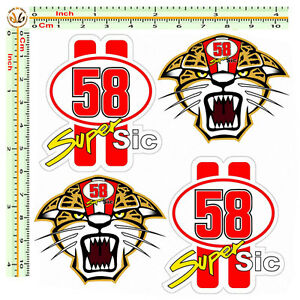 Marco-simoncelli-adesivi-tigre-super-sic-58-sticker-auto-moto-casco-pvc-4-pz