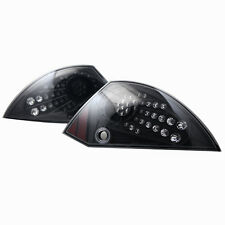 Tail Light For 00-05 Mitsubishi  Eclipse  Black / Clear Lens PAIR