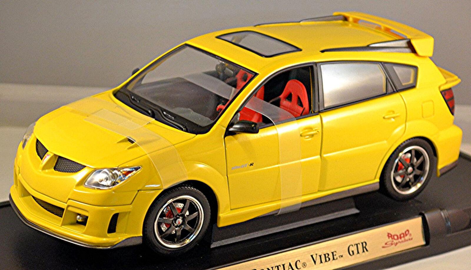 Pontiac Vibe GTR 2003 Giallo Metallico 1:18 Yat Ming