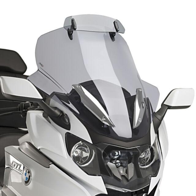 PUIG TOURING SCREEN-VISOR FOR BMW K1600 GT/GTL 11-21 LIGHT SMOKE