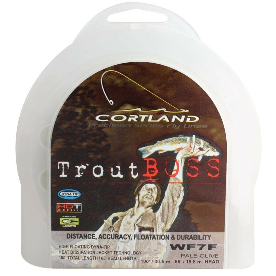 Cortland Trout Boss Precision Series Fly Lines
