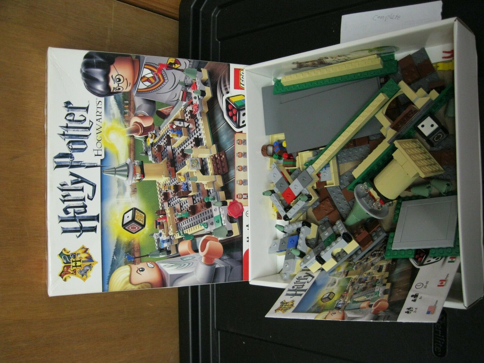 LEGO Harry Potter Hogwarts Board Game 3862 Complete in Box