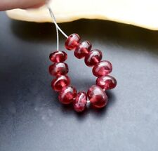 NEW RAREST BURMESE AAAAAA+ GEMMY CHERRY RED SPINEL BEADS 3.9-5mm BEADS 6.30cts