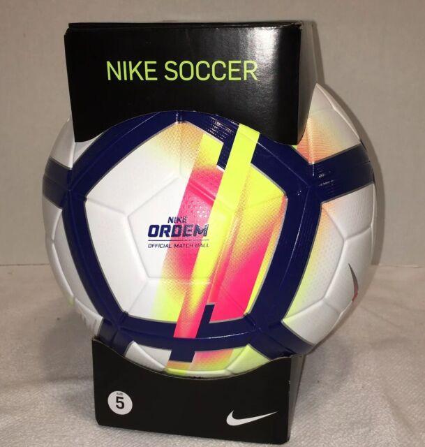 Calígrafo Ciudadanía Pascua de Resurrección  Nike Ordem V Premier League Official Match Ball Sc3130 100 Size 5 for sale  online | eBay