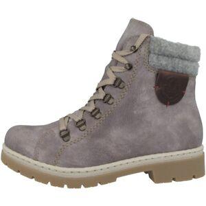 cheap innovative design sale uk Details zu Rieker Kirkless-Filz-Ambor Schuhe Damen Winter Stiefel Boots  gefüttert Y9430-43