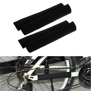 4pcs Durable Bike Frame Chain Guard Rear Fork Cover Chainstay Protector Pad