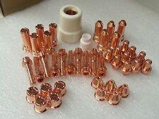 42pc Plasma Cut Tip/Electrode Set For Cebora® CP50 CB50 Plasma Torch *US SHIP*