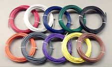 250' / 76.2 m 20 AWG Stranded Copper Model R/R Track Feeder Layout Hook Up Wire
