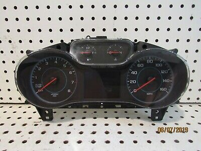 NEW OEM 2016-2019 CRUZE INSTRUMENT CLUSTER WITH STOP//START/&AUTO STOP-GO 39082370