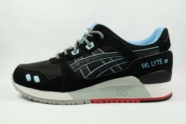 info for cd38b 443f9 Asics GEL-LYTE 3 III (Black/Blue/Red) Future Pack [H637Y-9090] Running Mens