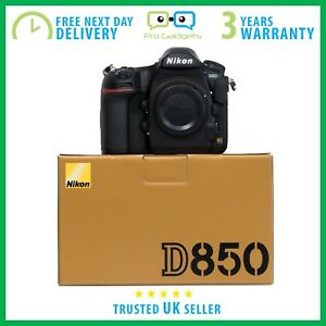 New-Nikon-D850-45-7MP-FX-CMOS-Sensor-4K-Video-DSLR-3-Year-Warranty