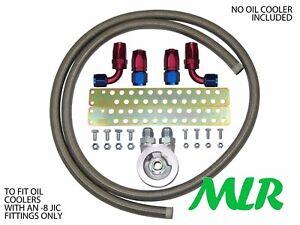 Mazda-Mx5-Eunos-Roadster-1-8-8-S-S-Trenzado-Tubo-Enfriador-de-aceite-KIT