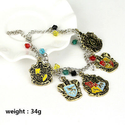 Harry Potter Women Hogwarts Gryffindor Slytherin Ravenclaw Hufflepuff Bracelet