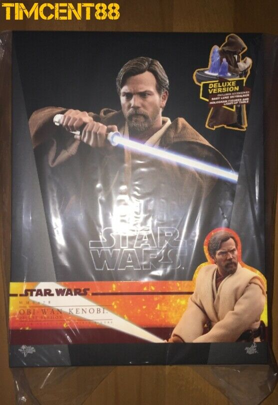 Ready Hot Toys MMS478 MMS478 MMS478 Star Wars III Revenge of the Sith Obi-Wan Kenobi Deluxe 9abc27