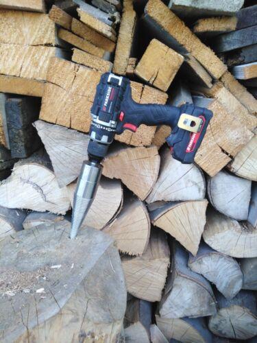 Rechtsgewinde Kegelspalter für Bohrmaschine Holzspalter Drillkegel D50 mm NEU