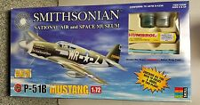 North American P-51B Mustang USAAF Model Kit #3050 Airfix 1998 Smthsonian NASM