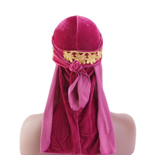 Woman Muslim Islamic Long Tail Soft Drag Headwear Turban Hijab Hat Cap Headscarf
