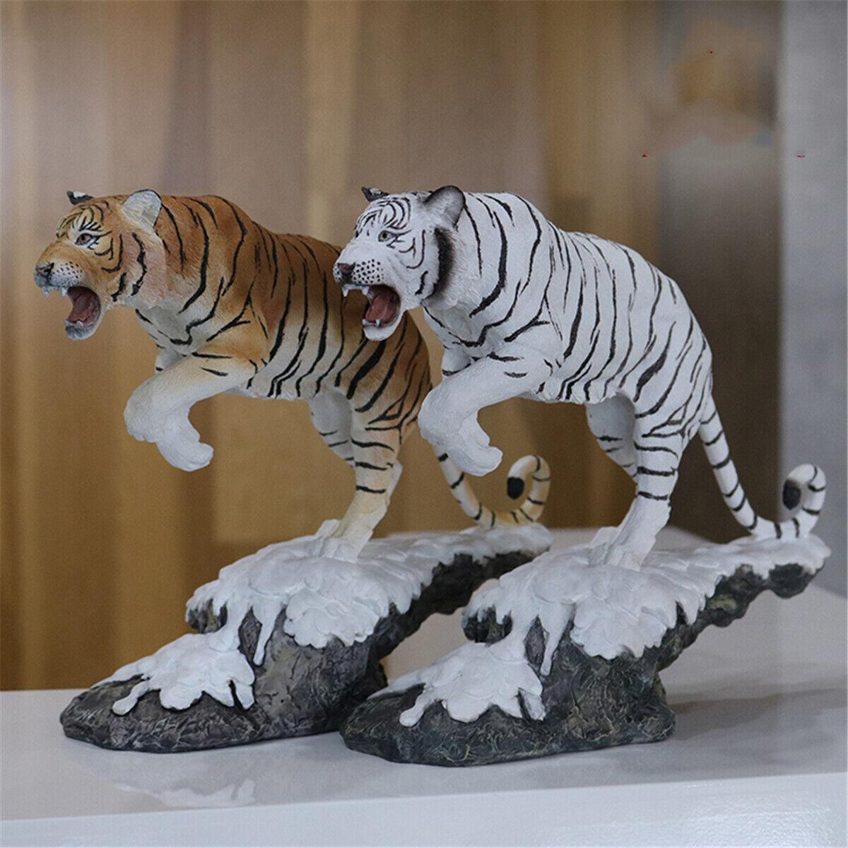 1 10 Siberian Tiger Snowfield Scene Animal  cifra modellololo giocattolo Collector Amur Tiger  alta qualità e spedizione veloce