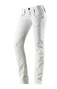 Weiß Herrlicher  Pitch 5003 N9102 Straight Leg Damen Jeans W27,29 L32