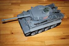 Heng-Long Modell eines Kampfpanzer Tiger grau Ferngesteuert RC Länge 52cm