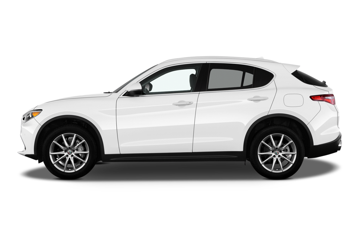 Alfa Romeo Stelvio side view