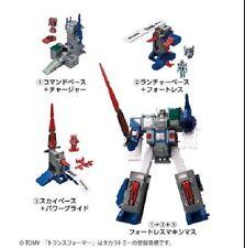 Kabaya Transformers Gum DX Fortress Maximus Metalic G1 Set of 3PCS NEW