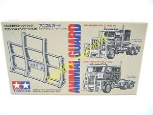 56506-Tamiya-1-14-ANIMAL-GUARD-R-C-Tractor-Truck-Set-re-Scania-MAN-Actros