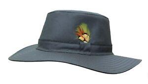 WWK Mens Aussie Sun Hat Fishing Hunting Walking Shooting Bush ... 3d26754f6cee