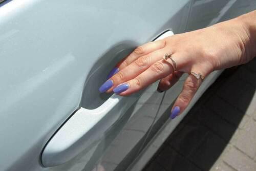 4x SET Vernis Protection Voiture porte Poignée Aluminium pour Mercedes Universel Coupe 101936