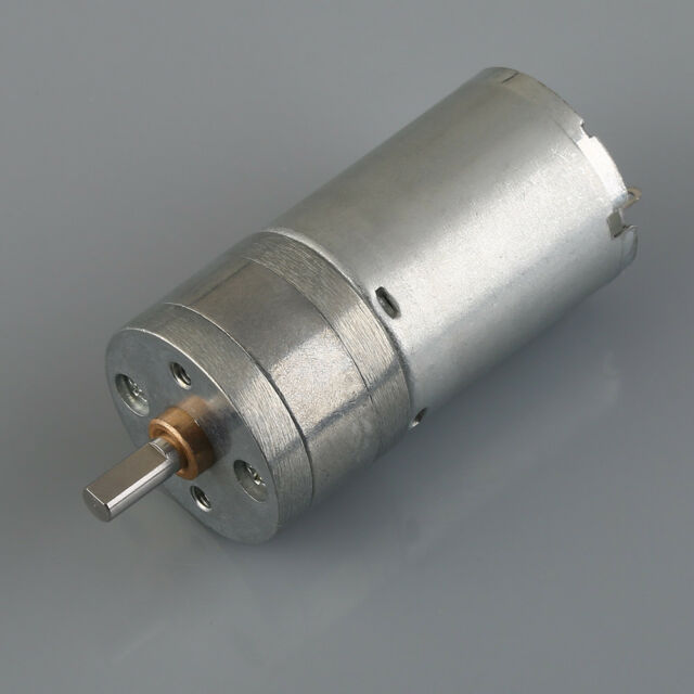 1000RPM 12V High Torque Mini Electric DC Geared Motor Hot